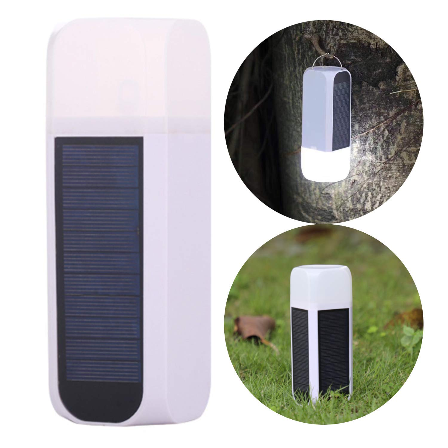 with 3000mAh Power Bank IP65 Waterproof and Portable LED Camping Lantern and Camping Lights Zoojee Super Bright Solar Camping Lantern Home Lantern,USB Rechargeable 21pcs LED Lamp