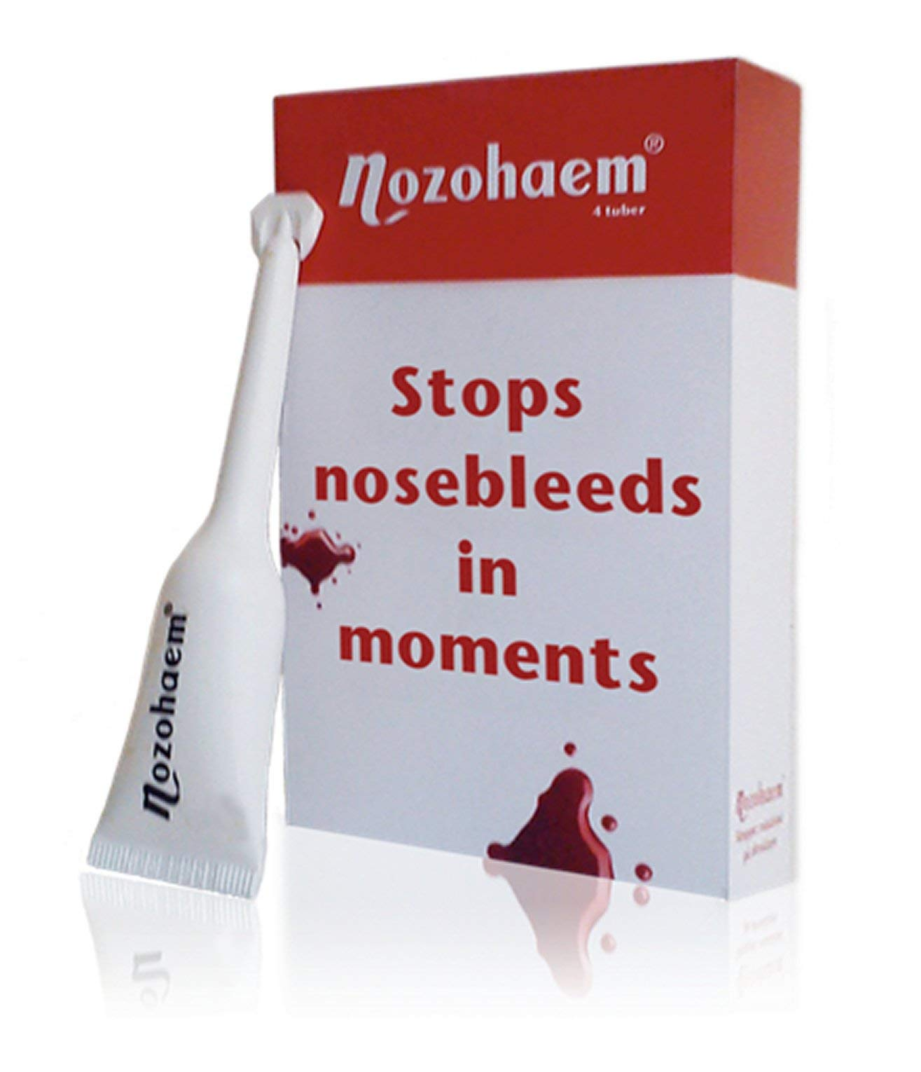 3/M Nexcare Blood-Stop Haemostatic Nasal Set of 6/stamps