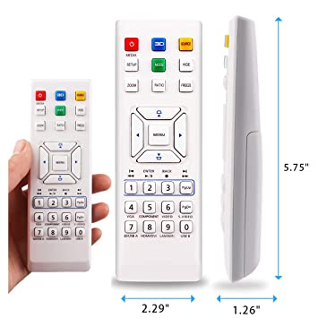 Aimple - Mando a Distancia para proyector Acer H6521BD P6200 P6500 ...
