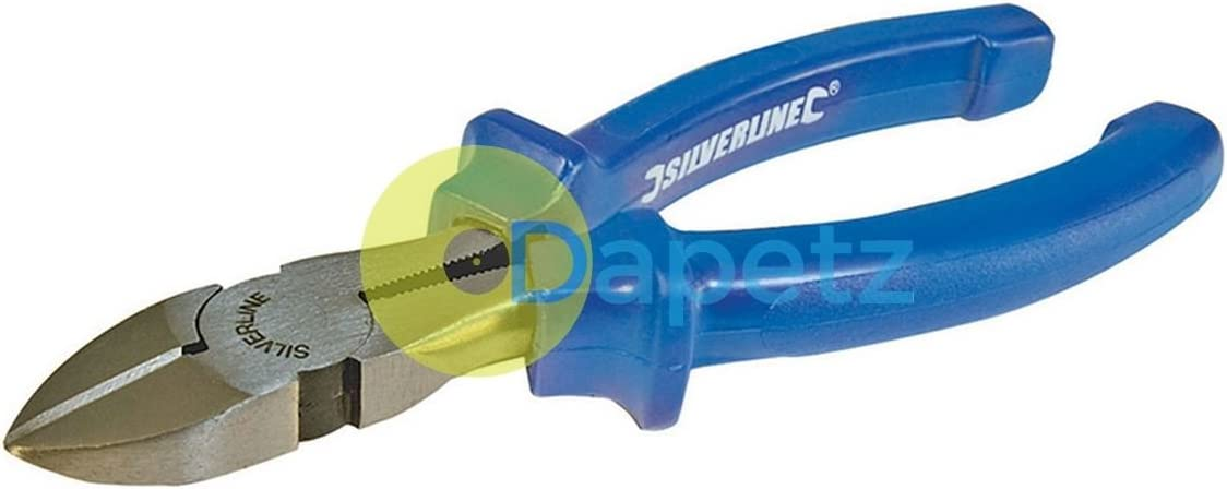 160mm Side Cutting Pliers Slip Guards Hardened Edges