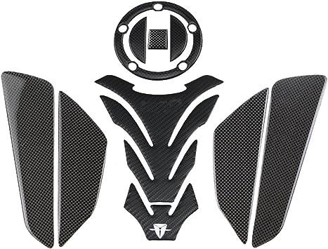 PRO-KODASKIN Motorcycle Carbon GSXR Tank Pad Decal Protector Sticker Emblem For GSXR 600 GSXR 750 GSXR 1000 K1 K2 K3 K4 K6 K7 K8 K9 L1