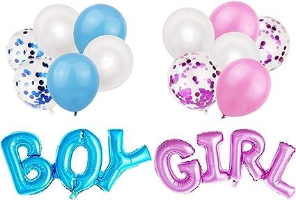 "5 Pack BOY /& GIRL NAMES Personalised Metallic Latex Balloons Helium Fill 12/"""