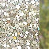Rabbitgoo Superior No-Glue 3D Static Illuminative Window Films, 23.6in By 78.7in (60 x 200Cm)