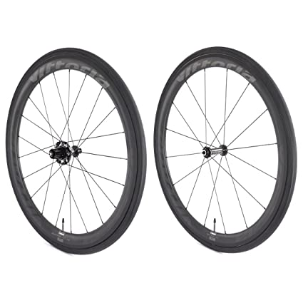 Vittoria Qurano 84 Carbon Tubular Road Bicycle Wheelset (700C/ 84mm)