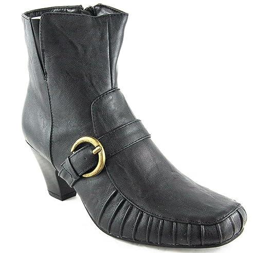 Andrea Conti Botas Botines High Heel Negro 2086, color Negro, talla 41