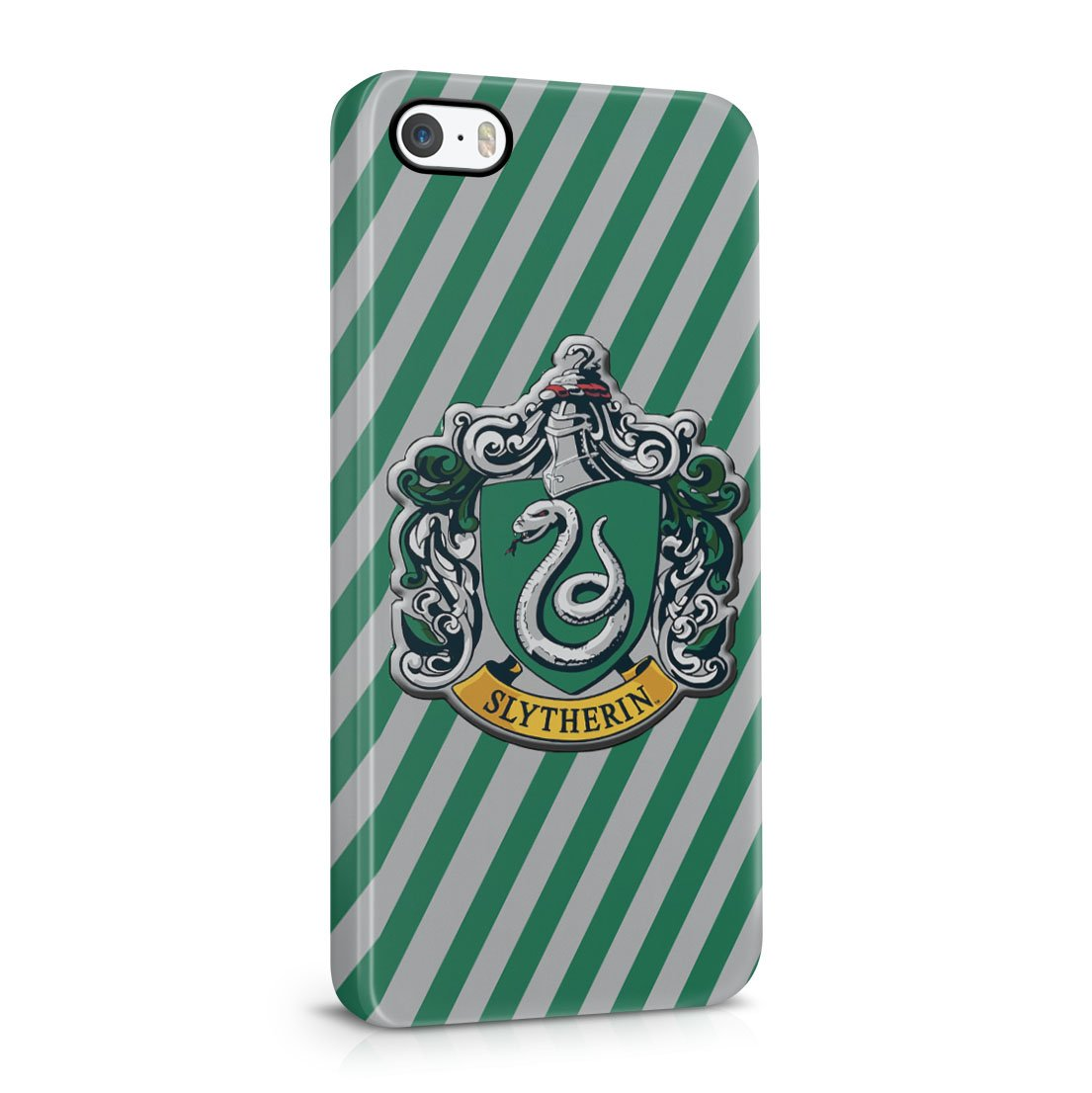 Harry Potter Slytherin Badge Logo iPhone 5 / 5S Hard Plastic Phone Case Cover
