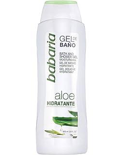 Babaria Aloe Vera Gel de Baño Hidratante - 600 ml