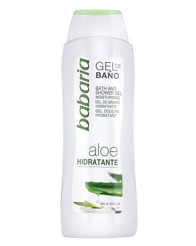 Babaria Gel de Baño Hidratante con Aloe Vera - 600 ml