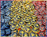 30-Pokmon-Go-Pins-1-Bulk-Mini-Buttons-Mystic-blue-Instinct-yellow-and-Valor-red-Great-for-Party-Favors-or-Loot-Bags-bv007a