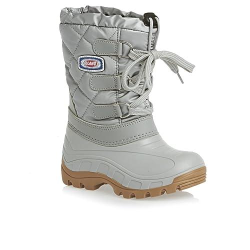 37fa9d79b74 Olang - Botas para niña plateado plata, color plateado, talla 36 EU:  Amazon.es: Zapatos y complementos