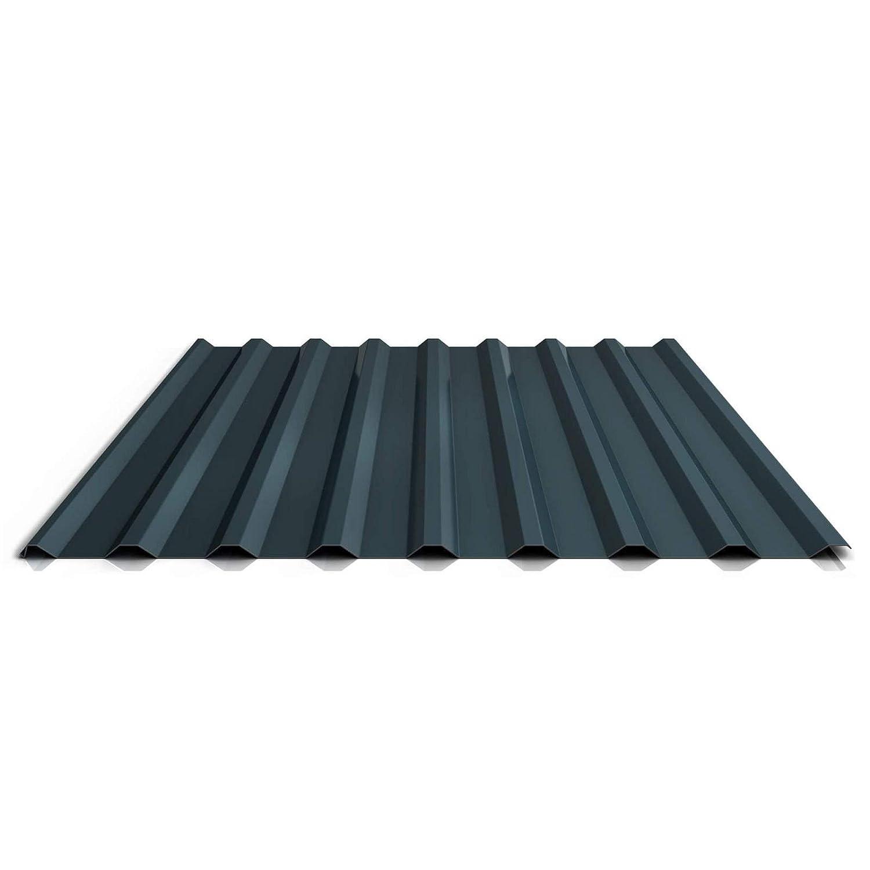 Beschichtung 25 /µm Farbe Rotbraun St/ärke 0,40 mm Dachblech Profil PS20//1100TR Trapezblech Profilblech Material Stahl