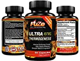 FUZE Thermogenic Mega Fat Burner Weight Loss Energy Supplement with Detox Diet Plan To Ignite Your Metabolism and Melt Fat Fast!