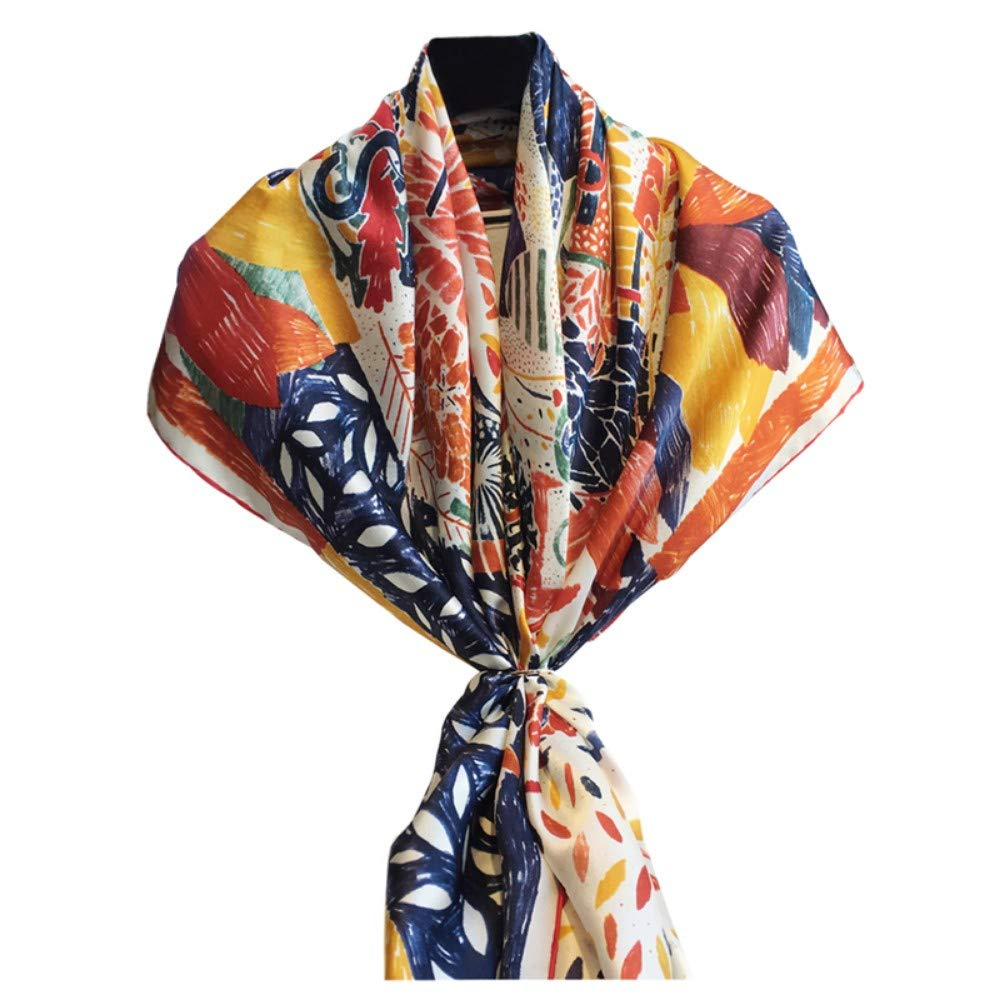 Txyy Women'S Soft And Delicate Square Scarf, Satin Shawl, Beach Towel, Sunscreen Travel DualUse, Fashion Scarf