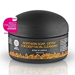 Natura siberica - Northern detoxifying soap with charcoal for a deep purifying effect 120g ()