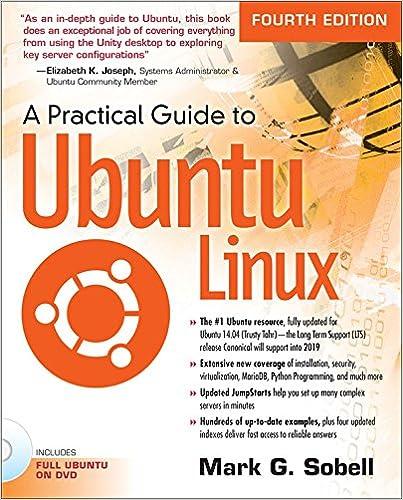 Amazon com: A Practical Guide to Ubuntu Linux: A Practical