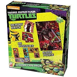 Nickelodeon Teenage Mutant Ninja Turtles Caja de Juego de ...