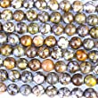Natural Genuine Fire Lace Opal Round Real Gemstone Jewelry Necklace Making Loose Beads Findings Supplies (8mm)