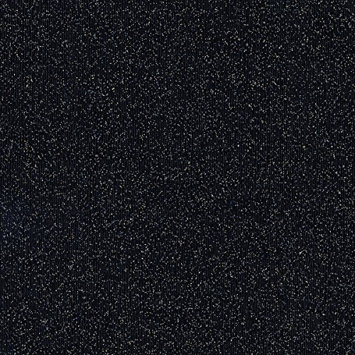 American Crafts 378202 Black Tie Coredinations Specialty Cardstock Core Couture 20 Pack of 12 X 12'' Black Tie,Small Glitter by American Crafts