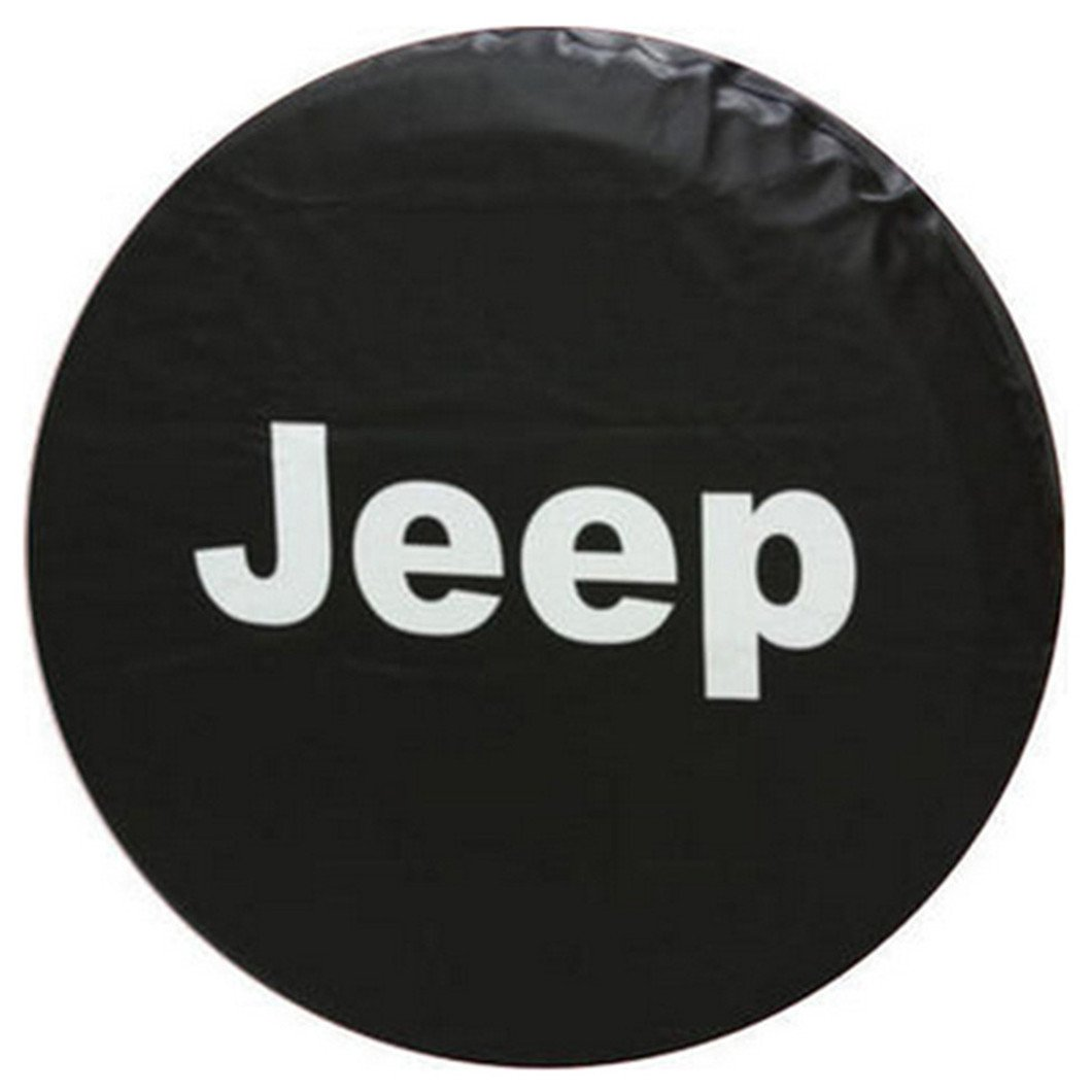 Styling PVC Leather Spare Tire Cover 16 Inch Compatible For Jeep Wrangler Liberty Car Spare Wheel Cover 30-31