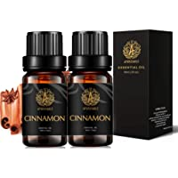 Aromatherapy Essential Oils Set, 100% Pure & Therapeutic Grade Cinnamon Essential Oils Scent Set for Diffuser…
