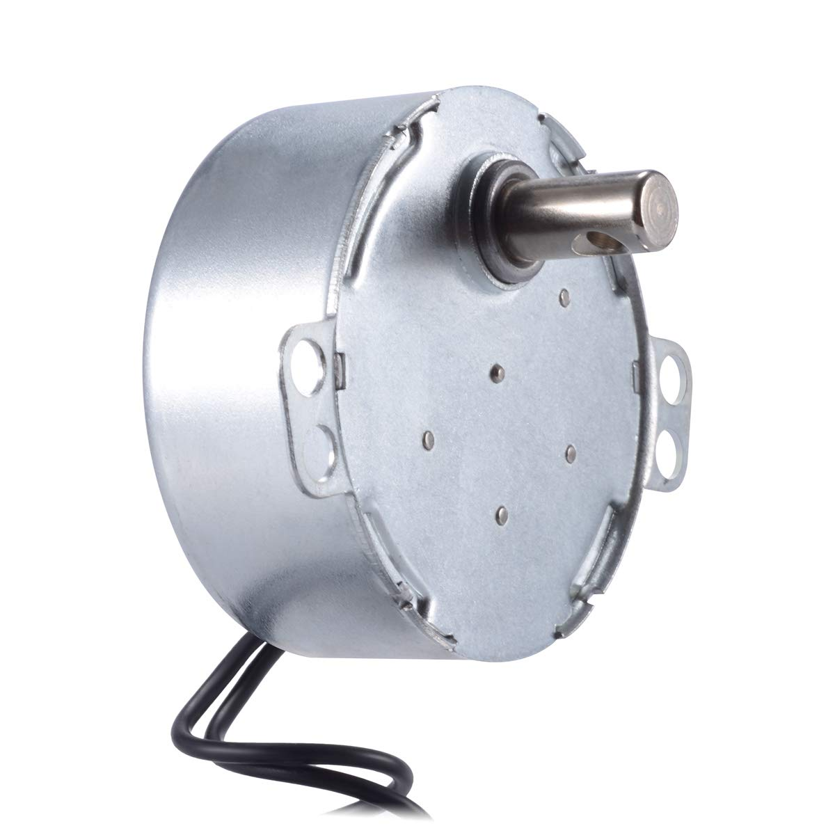 2 Pcs 2.5/3 RPM Electric Motor - AC 100V~130V Micro Turntable Synchronous Motor, 50/60Hz 4W CCW/CW - for Microwave Oven, Hand-Made, School Project, Model etc.