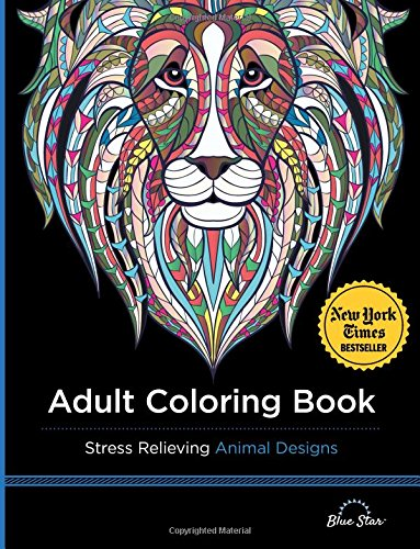 Adult Coloring Book Relieving Designs product image