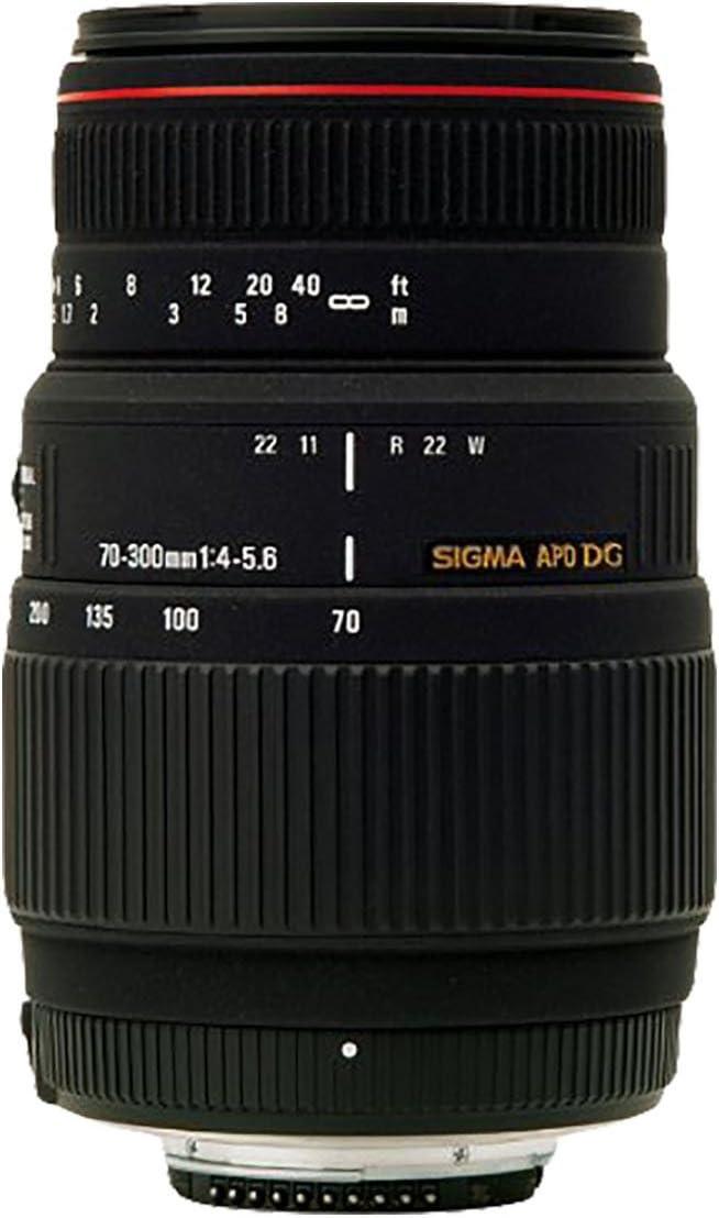 Sigma 70-300mm f4-5.6 APO Macro DG Lens For Sony Digital SLR Cameras-Black