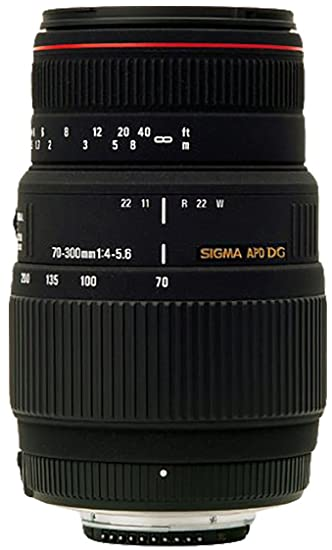 Sigma AF 70 300mm F/4 5.6 DG APO Macro Telephoto Zoom Lens for Canon DSLR Camera DSLR Camera Lenses