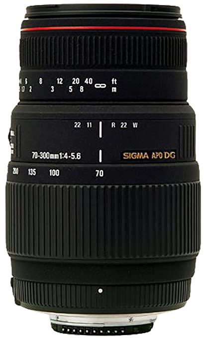Sigma 70 300mm F 4 56 DG APO Macro Telephoto Zoom Lens For