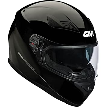 GIVI H504BN90260 Hps 50.4B Integral Casco con Visera, Color Negro, Talla 60/