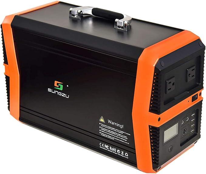 Sungzu Portable Power Station 1000W, 1010Wh Portable Solar Generator
