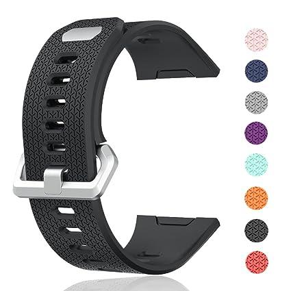 cyeeson Fitbit Ionic reloj Watch Reemplazo Banda suave ...
