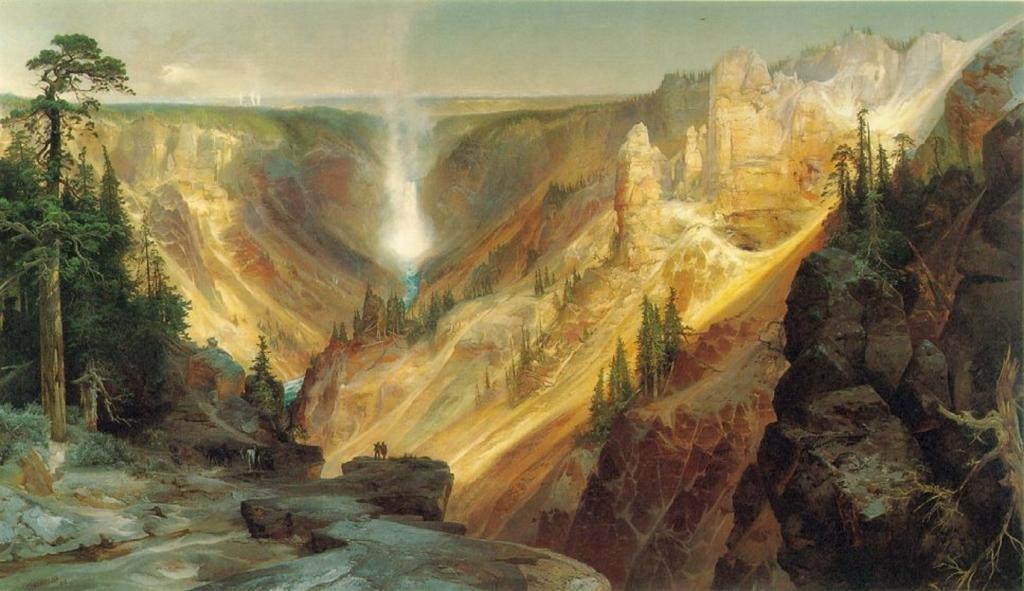 Amazon.com: The Grand Canyon of the Yellowstone : Thomas Moran ...