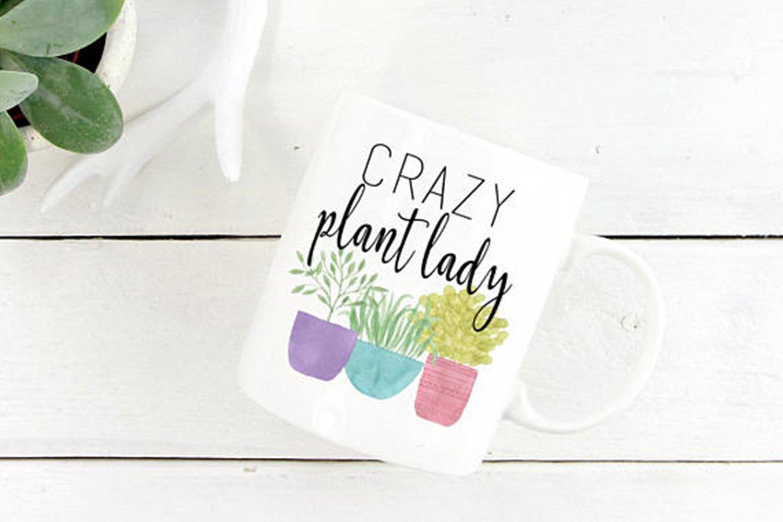 70550a12ef6 Crazy Plant Lady, Gardening Mug, Gardening Gift, Plants, Plant Lover, Plant  Lover Gift, Gift For Gardener, Plant Lady, Mug- 11oz Ceramic Coffee Mug Tea  Cup: ...