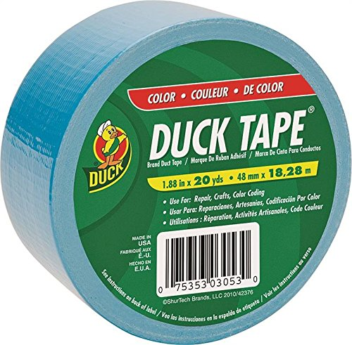 Wholesale CASE of 25 - Duck Brand Electric Blue Duct Tape-Duck Tape, 1.88''x20 Yards, Blue by DUC