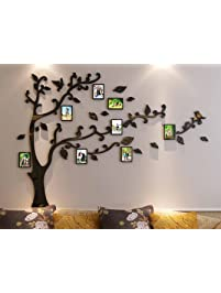 Wall stickers murals amazon 3d picture frames tree wall murals for living room bedroom sofa backdrop tv wall background teraionfo