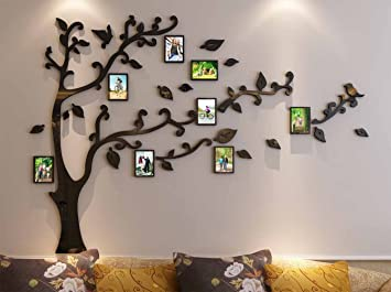 3d Picture Frames Tree Wall Murals For Living Room Bedroom Sofa Backdrop Tv Wall  Background, Part 66