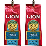 ライオンコーヒー (Lion Coffee) バニラマカダミア 198g(粉) × 2個