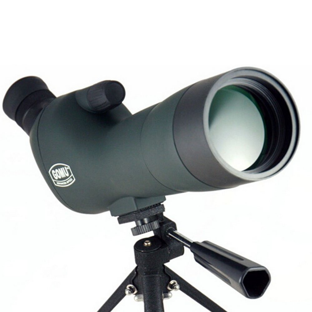 自由20 – 6060 Optics Spotting Scope with Tripod、45アングル接眼レンズ& # xff0 C ;防水高定義とナイトビジョンズーム可能Monocularアウトドア活動用オリーブグリーン B072JK6MBB
