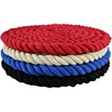 """SGT KNOTS Twisted Cotton Rope 1/8"""", 3/16"""", 1/4"""", 3/8"""", 1/2"""", 5/8"""" x 10' - 300' Spools - Several Colors - (Several Lengths)"""
