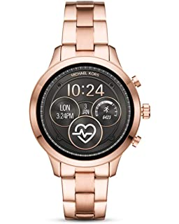 40ce2676f0e8 Michael Kors Womens Smartwatch with Stainless Steel Strap MKT5046