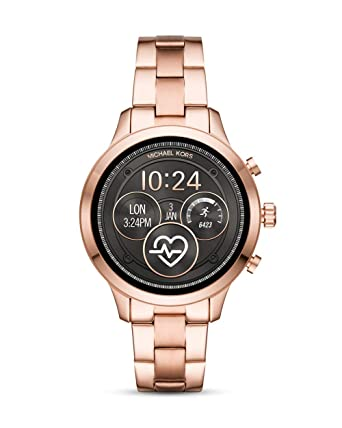 Amazon.com: Michael Kors MKT5046 Rose Gold Steel 316 L Woman Watch: Watches