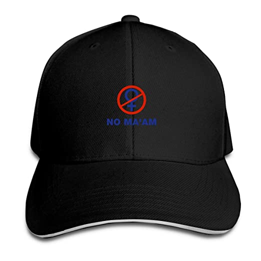 416e8264575 No Ma am Adjustable Strapback Baseball Cap No Ma am Unisex Dad Baseball Cap
