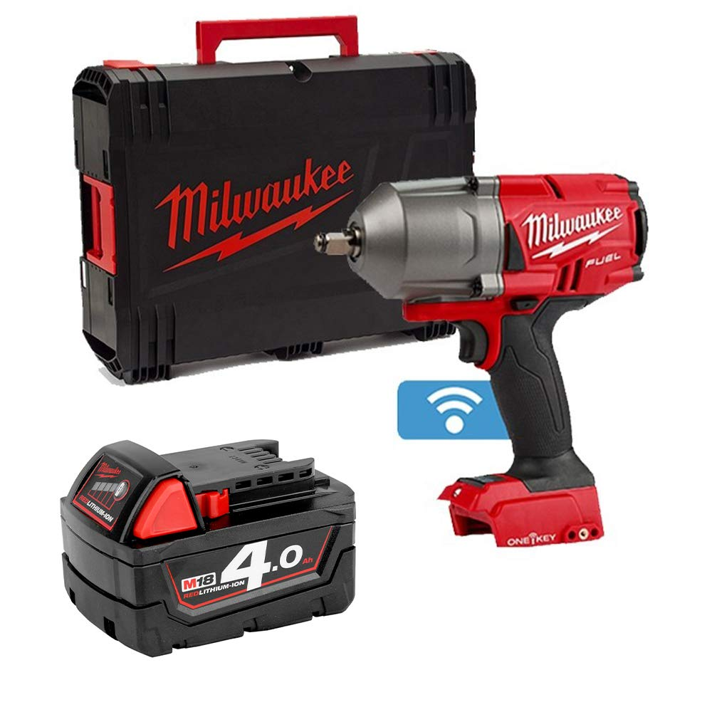 Milwaukee M18ONEFHIWF12-0 18v 1//2in Fuel ONE-Key Impact Wrench Friction Ring 4Ah