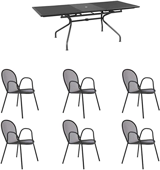 Emu Ensemble Table Athena Extensible 230/300 x 100 + 6 ...