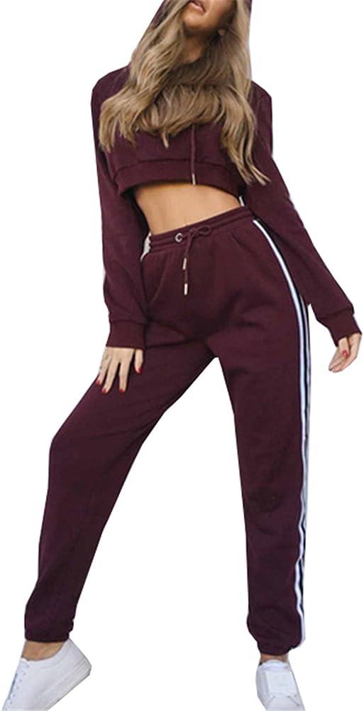 COCO clothing Chándal Mujer Jersey Pantalones Conjunto Deportivas ...