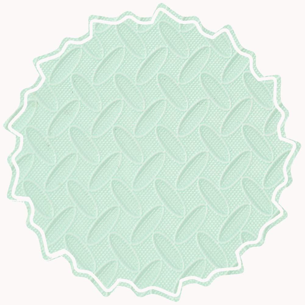A 60x60x1.2cm-9pcs YUEWANG-Tappeto Puzzle Bambino PE Piastrelle, Combinazione Gratuita Morbido Area Gio  Tinta Unita Multidivertimentozione 12mm di Spessore, 3 Coloreei, Opzionale (Coloree   B, Dimensione   60x60x1.2cm-12pcs)