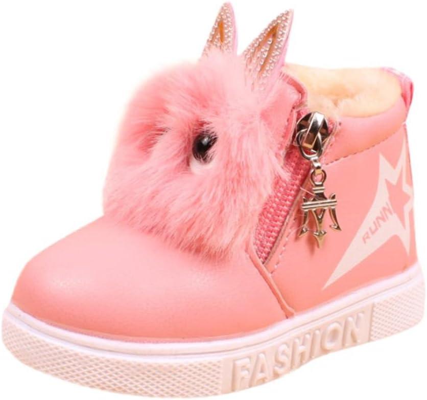 Kids Girls Sneaker Cute Cat Boots Warm