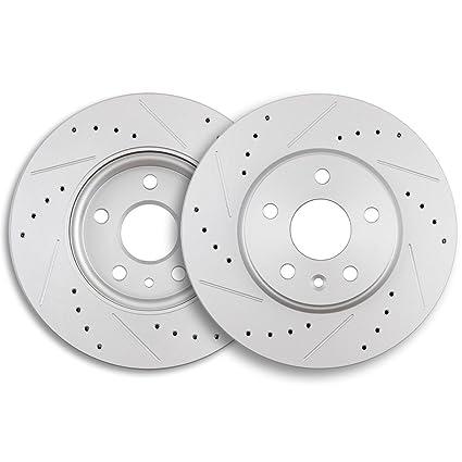 ECCPP Brake Rotors, 2pcs Front Brake Discs Rotors Brakes Kits fit for 2011-2015