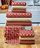 10-Pc. Kitchen Towel Set Spice
